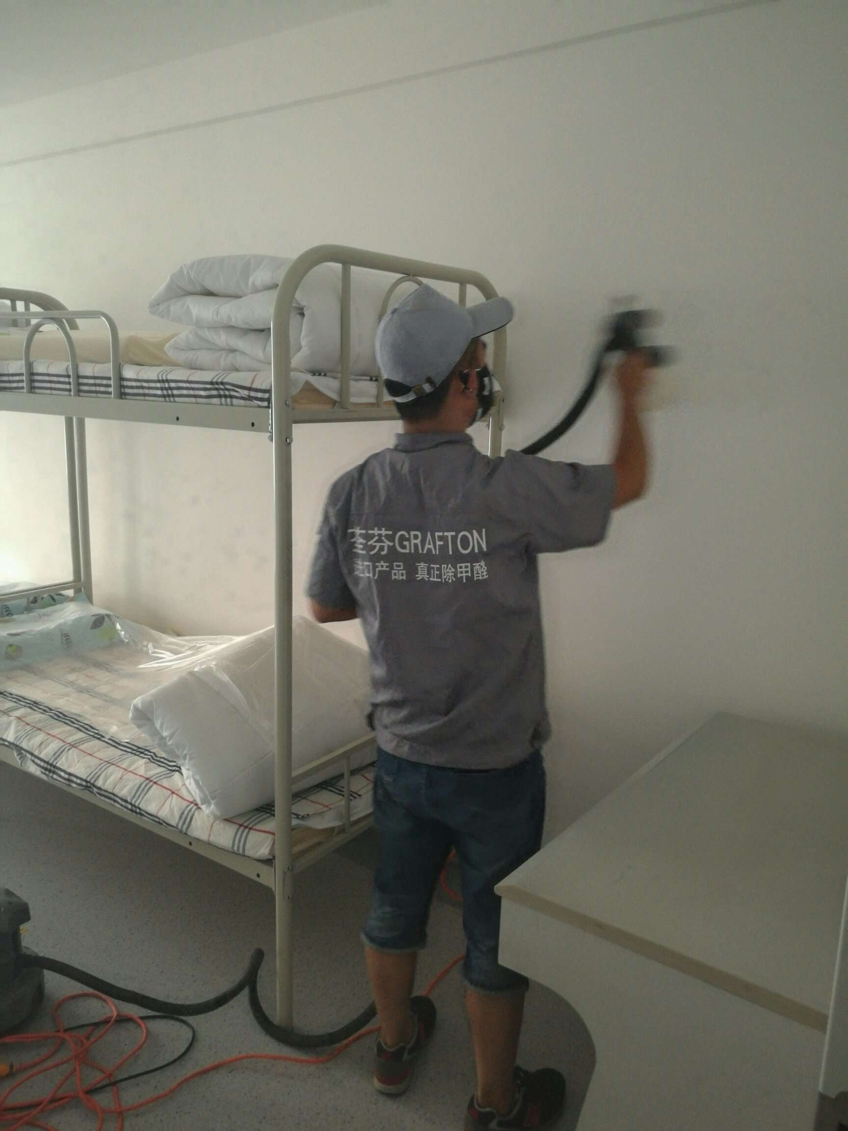 陜西省婦幼保健院施工噴涂施工