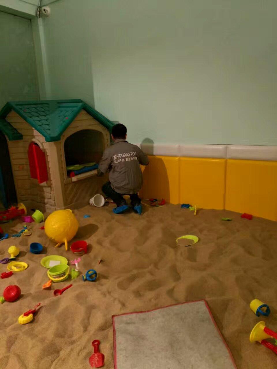 魔幻互动儿童乐园游玩区