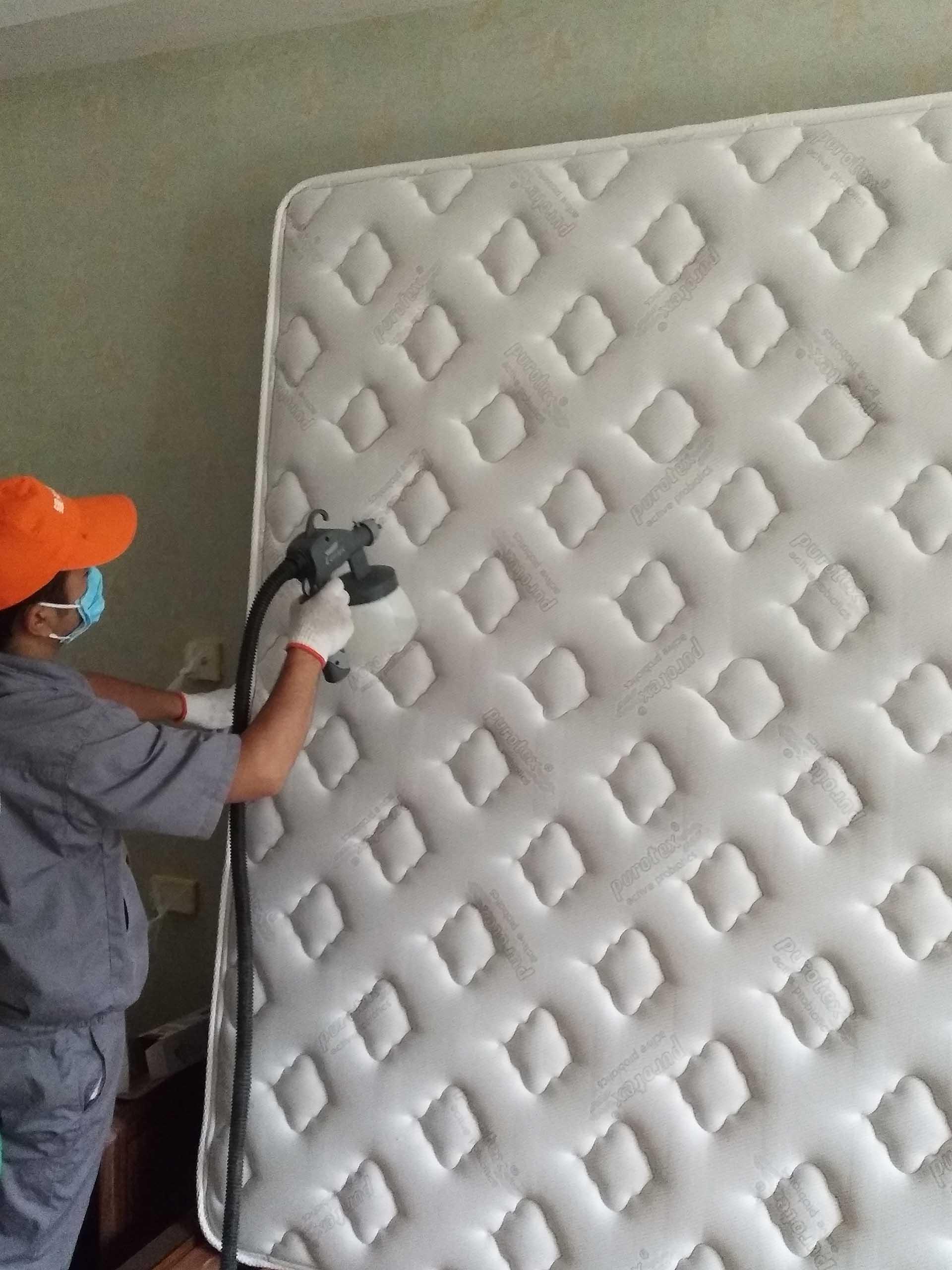 床墊重點施工