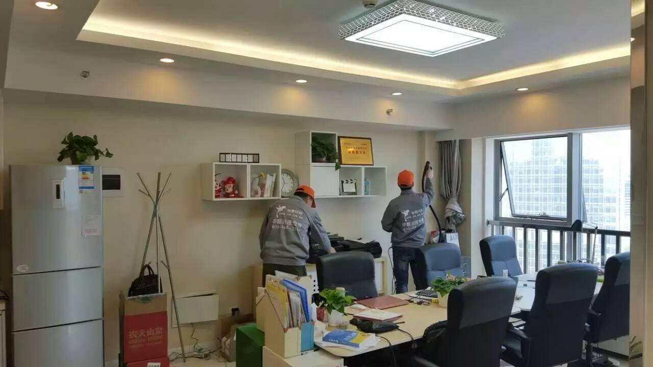 恒天財富辦公區墻面施工