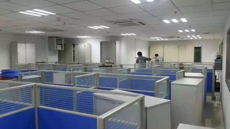 辦公區域施工