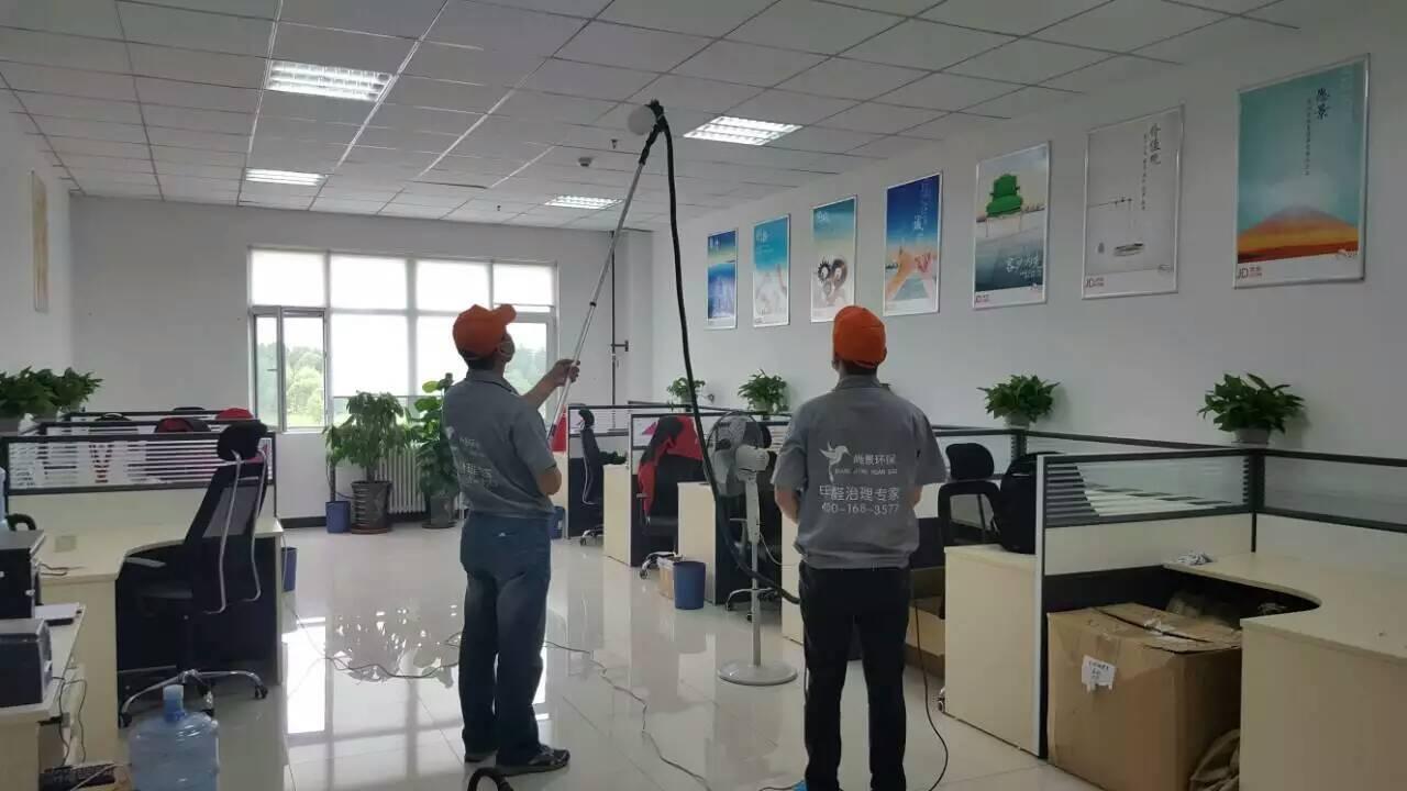辦公區域頂面施工