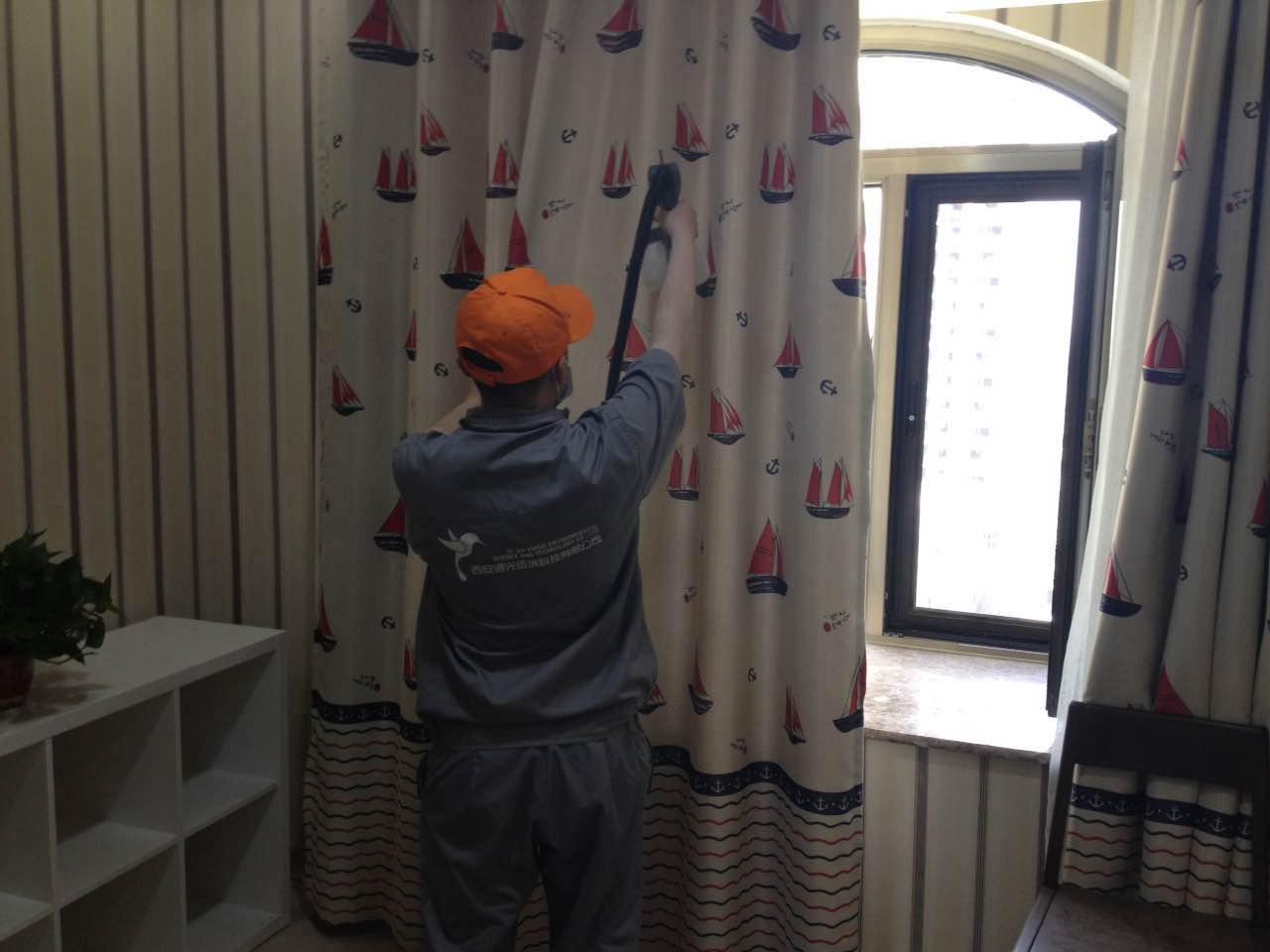 窗簾布藝重點施工區域