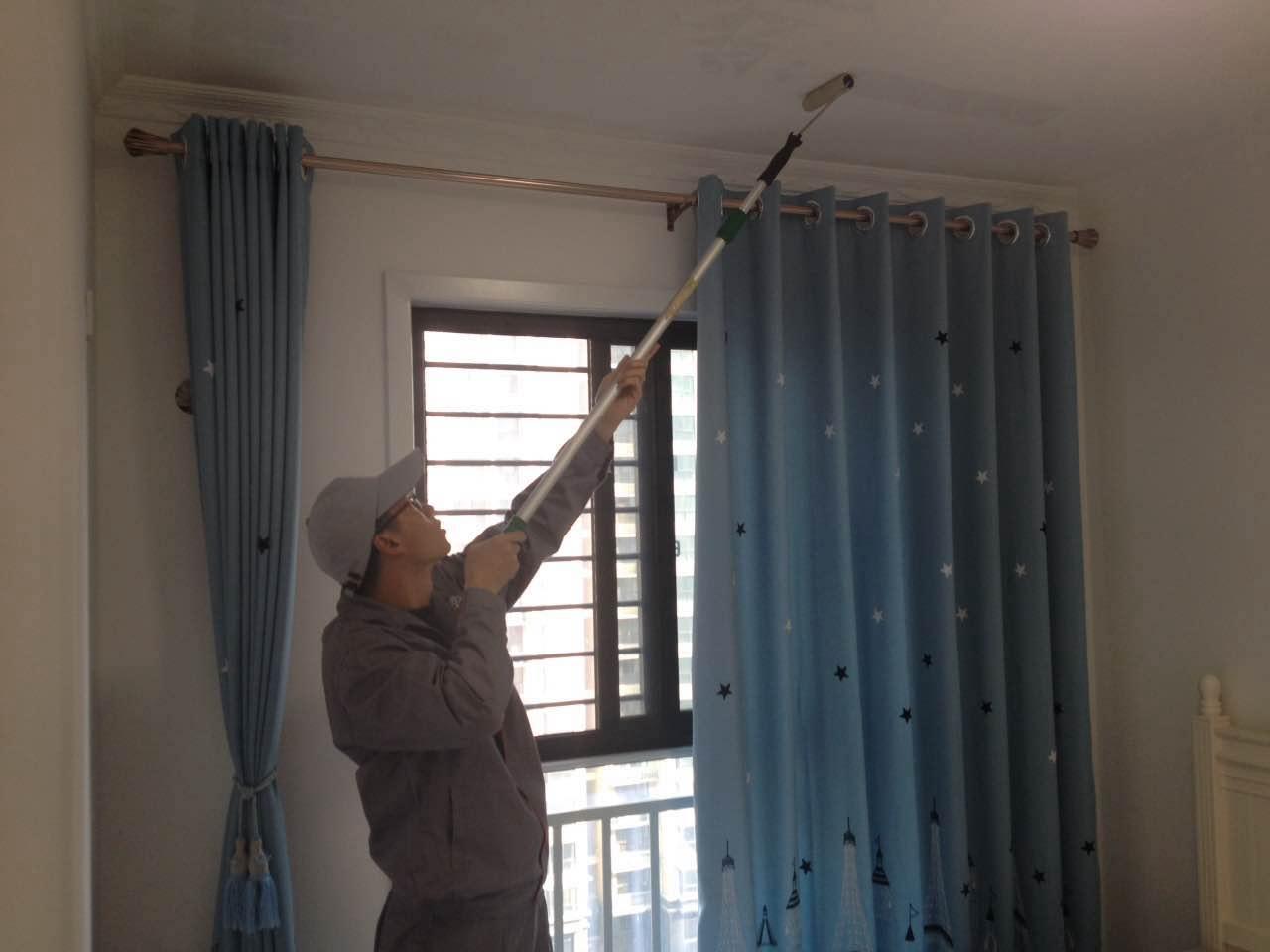 卧室顶面全方位施工