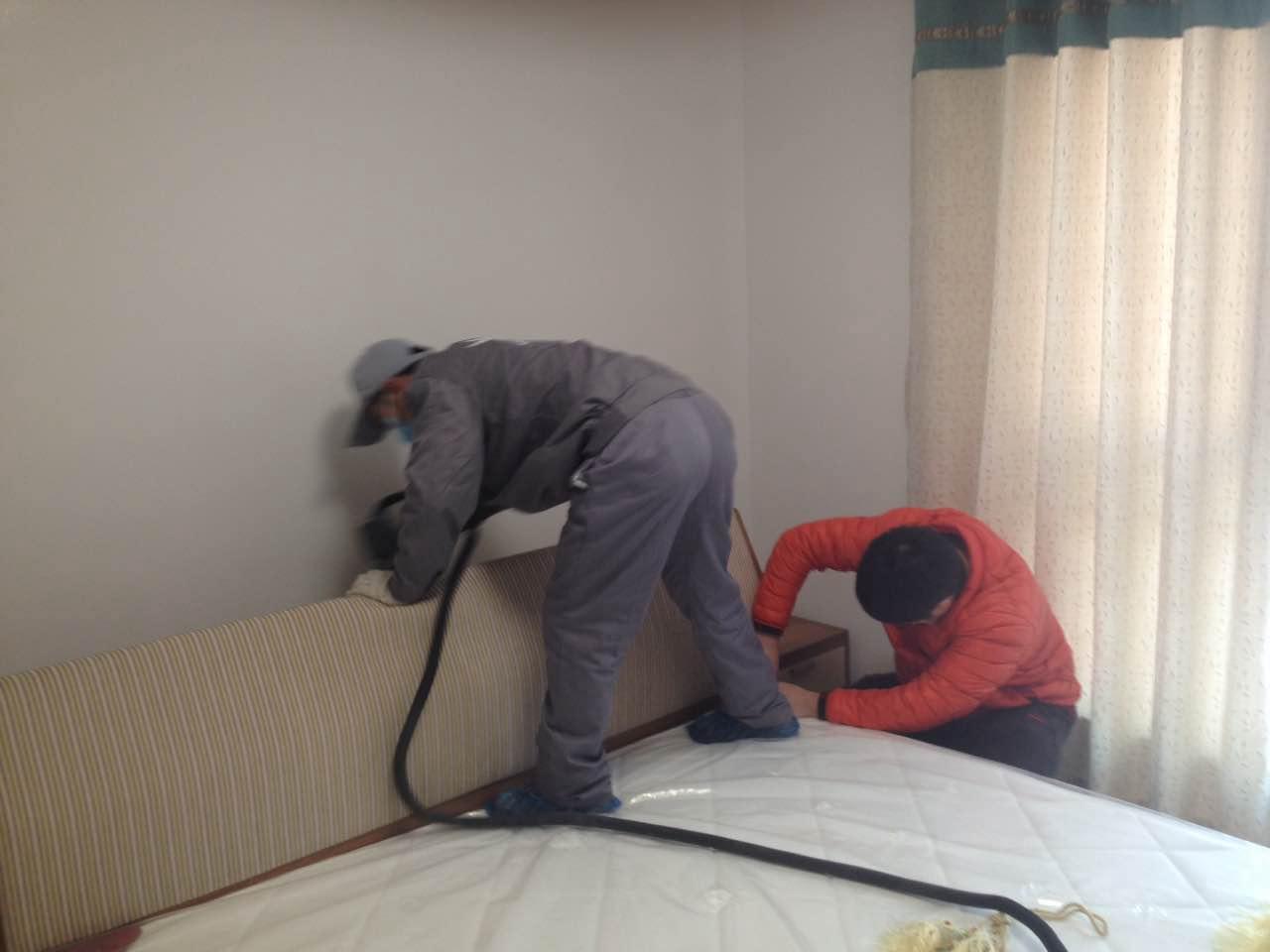 床垫全方位施工