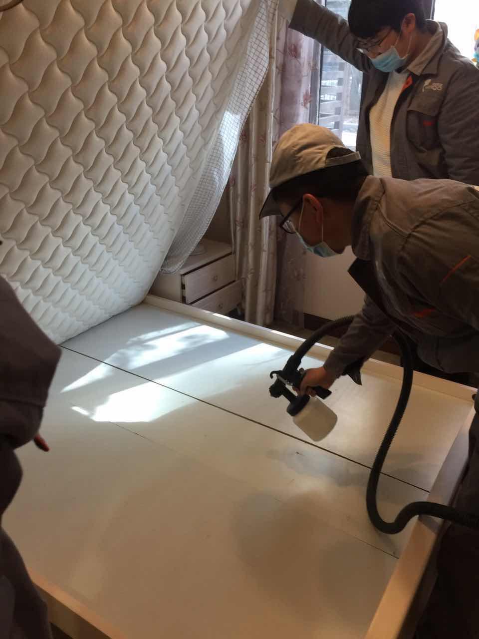 床架床垫全方位施工