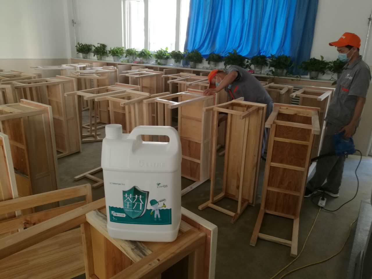 桌椅全方位施工